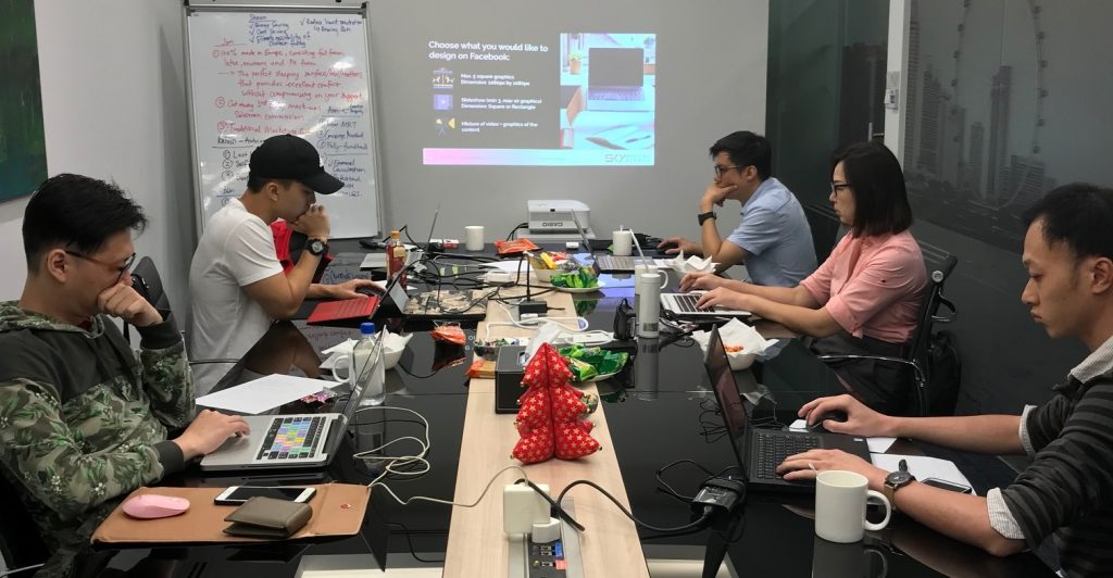 6 Raffles Quay Training Room with participants CROPPED